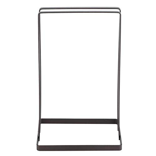 Hanger Storage Rack Multifunctional Portable Iron Household Double Row Clothes Hanger Storage Rack Holder Stand Organizer for Closet Room