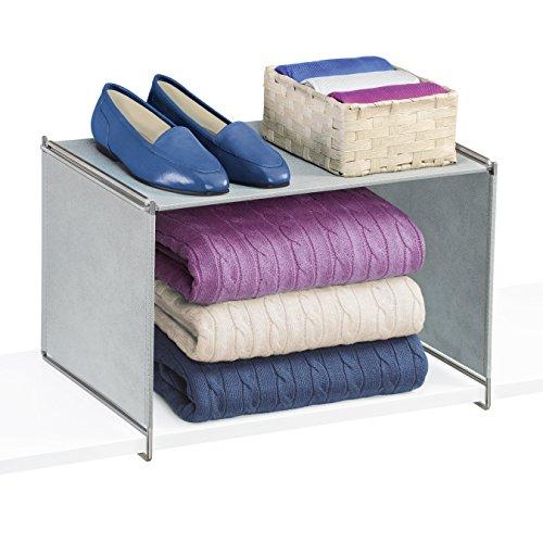 Lynk Vela Closet Organizer Extra Shelf-Platinum