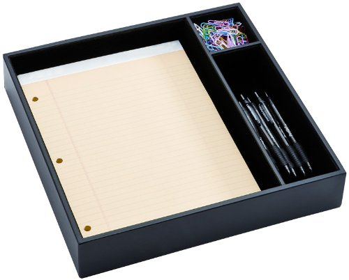 Dacasso Classic Leather Conference Room Organizer