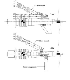 Trasmissione nautica Top System TS 120