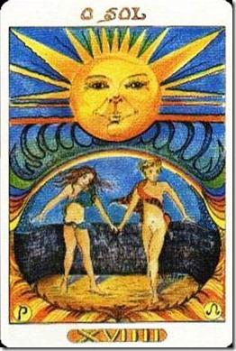 cartas del tarot gratis el sol