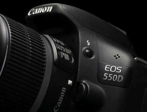 La Canon EOS 550D
