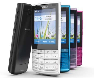 Telefonía: nuevo Nokia X3-02 Touch & Type