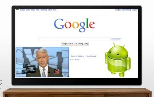 Android Market llegará a Google TV