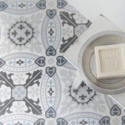 keramische cementtegels met een patroon om van te snoepen