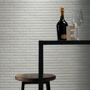 brick motief in een keramische tegel
