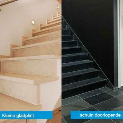 afwerking van trappen