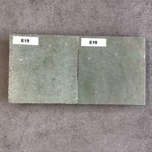 handgemaakte wandtegeltjes in groen grijs
