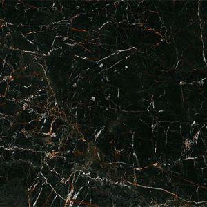 Zwarte marmer met rood bruine accenten