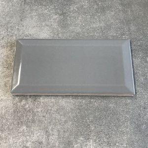 Donker grijze metrotegels in formaat 10x20cm te koop in west vlaanderen