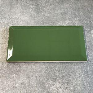 Biselado tegels in flessen groen in formaat 10x20cm te koop in West Vlaanderen.