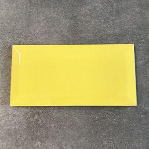 Kanarie gele metrotegel te koop in Ieper.
