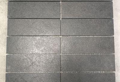 Outlet tegels bij Top Tegel 04 in West Vlaanderen: Mozaiek tegels Tiber nero.