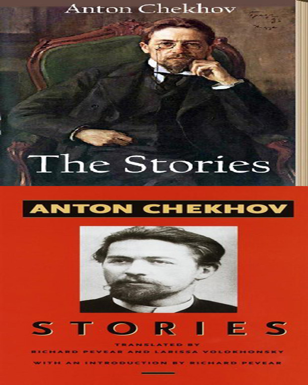 The Stories of Anton Chekhov book cover photo