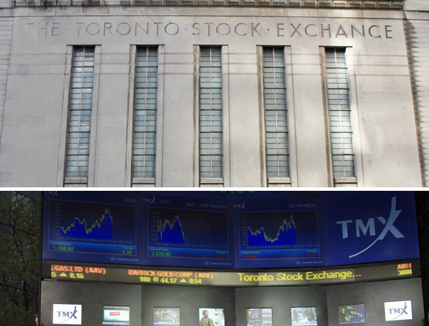 top position stock exchanges