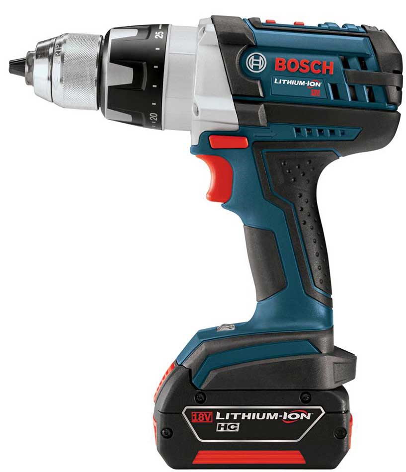 Review of Top Three Best Cordless Drills in the World