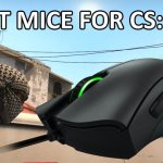 Best CSGO Gaming Mouse for 2017