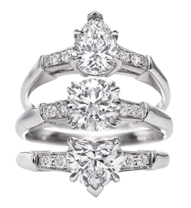 harry_winston._iconic_harry_winston_pear-shaped_round_brilliant_heart-shaped_rings