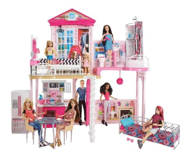 Barbie Style Your Way House