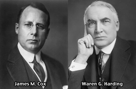1920 election cox harding