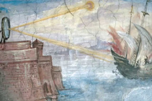 Archimedes' Death Ray