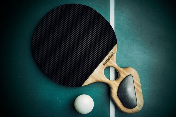 Coconut Ping Pong Paddle