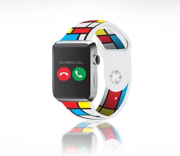 Piet Mondrian Smartwatch Band
