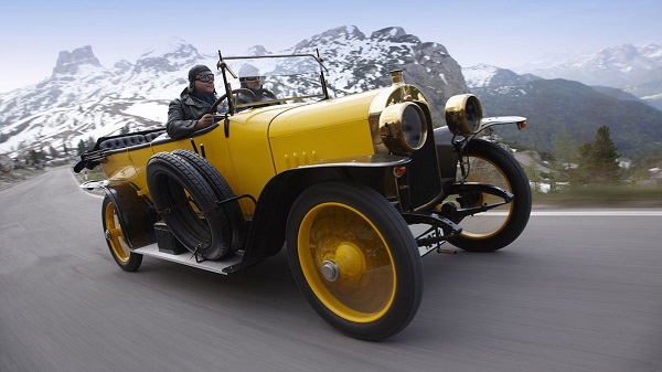 1914 Audi 14/35 Type C Alpine Victor