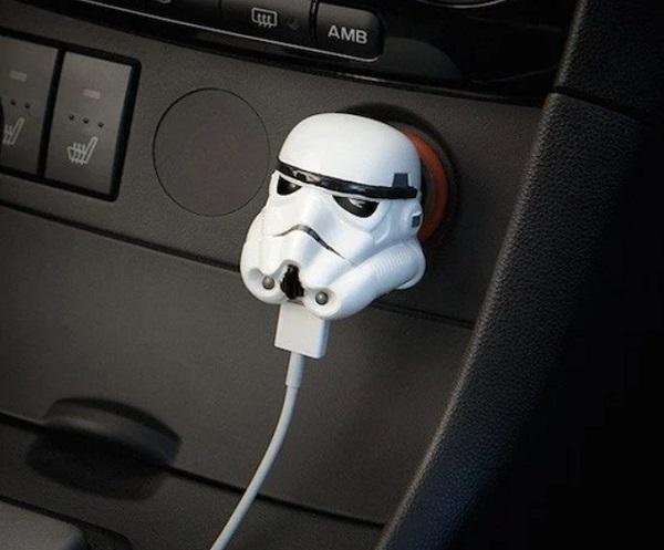 Star Wars Stormtrooper USB Car Charger