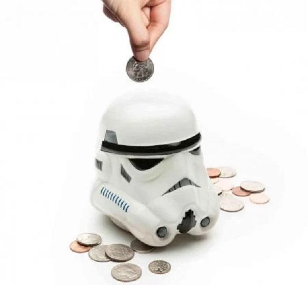 Star Wars Stormtrooper Piggybank