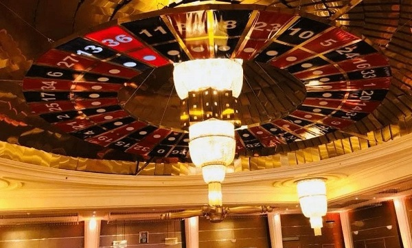 The Worlds Largest (Working) Roulette Wheel is Upside Down!