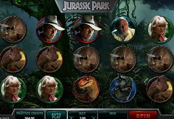Jurassic Park Video Slots
