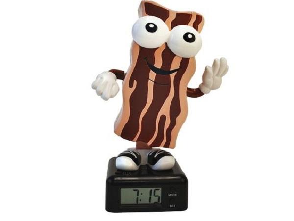 Wakin Shakin Bacon Alarm Clock