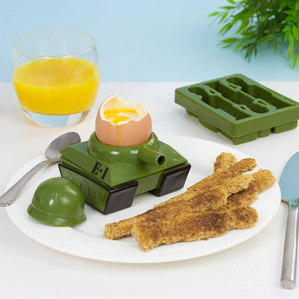 Egg-splode Egg Cup and Toast Cutter Set