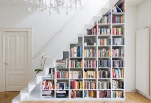 Bookcase Under Staircase