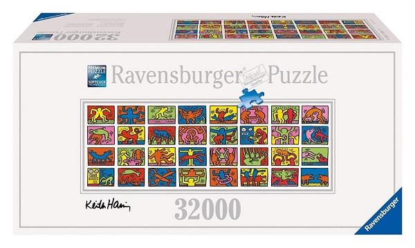 Ravensburger Keith Haring Double Retrospect Puzzle - 32,000 Puzzle Pieces