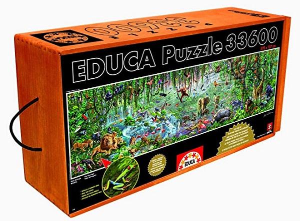 Educa Puzzle 33,600 - 33,600 Puzzle Pieces