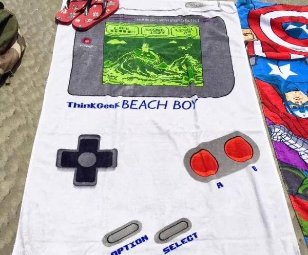 Nintendo Gameboy Beach Towel