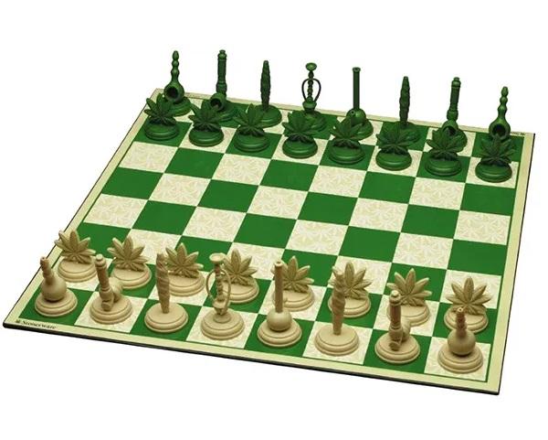 Marijuana Chess Set