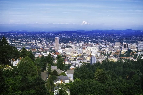 Portland, USA - Air quality index: 4