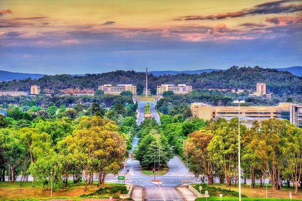 Canberra, Australia - Air quality index: 3