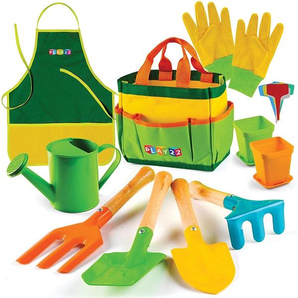 Play22 12 Piece Kids Gardening Tool Set