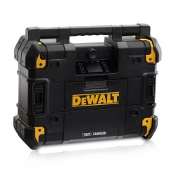 Toptopdeal-co-uk DeWalt DWST1-81079-GB 18V Bluetooth DAB FM AM TSTAK Jobsite Radio
