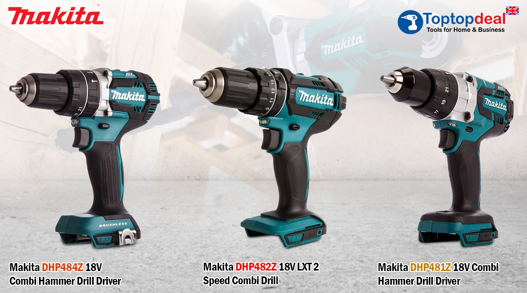Topotpdeal- uk Makita Combi Drills Add Versatility And Performance