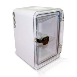 15L Bedroom Mini Fridge, Food and Beverage Beer Cooling Small Refrigerator,