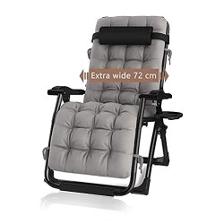 Toptopdeal DQCHAIR Outdoor Reclining Zero Gravity Chair