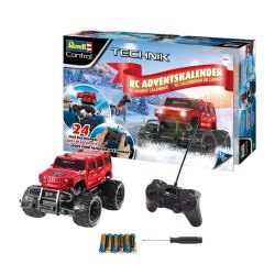 Toptopdeal-Revell-Control-01022-RC-Car-Advent-Calendar,-Black,-25cm