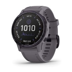 Toptopdeal-uk-Garmin-fenix-6s-Pro-Solar,-Smaller-Sized-Solar-Powered-Multisport-GPS-Watch,-Advanced-Training-Features-and-Data,-Amethyst-Steel