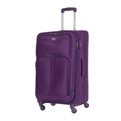 Toptopdeal-Flight-Knight-Lightweight-4-Wheel-800D-Soft-Case-Suitcases-Maximum-Size-for-Delta,-Virgin-Atlantic-Airlines-Cabin-&-Hold-Luggage