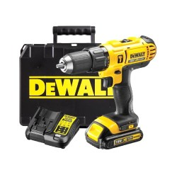 toptopdeal-DEWALT 18V CORDLESS LITHIUM LXT COMBI DRILL,DRILL DRIVER WITH HAMMER ACTION FACILITY COMPLETE WITH LITHIUM BATTERY FAST CHARGER HEAVY DUTY CARRYING CASE